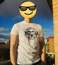 Camiseta Venezuela Unisex 100 % Algodón talla S, M, L, XL