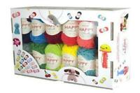 SIRDAR HAPPY CHENILLE DK HAPPY BOX - 25 X 15G; Ideal Gift for Crocheters!