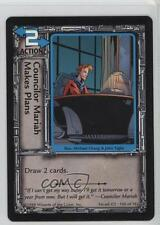 1998 Jim Lee's C-23 #105 Councilor Mariah Makes Plans Gaming Card 0b5