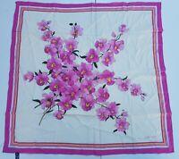 foulard jean patou pura seta 100% silk original made in italy handmande vintage
