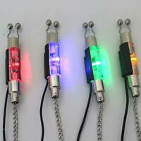 LED bobbin swinger indicator for bite alarm multi coloured night fishing carp