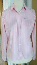 Next Candy Stripe Pink  Shirt  Blouse Size 14 Ladies Womens