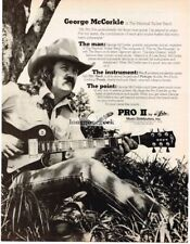 1977 Aria Pro II Electric Guitar George McCorkle Marshall Tucker Magazine Ad