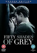 Fifty Shades of Grey  Unseen Edition      **Brand New DVD**