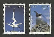 Iceland 770-771 (1993) Mnh/Ognh; Xf to Xf/S {Art} 2 Stamps