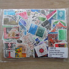 500 TIMBRES DIFFERENTS DES PAYS BAS / STAMPS NETHERLANDS