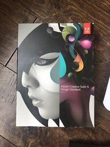 Adobe Creative Suite 6 Design Standard Mac OS CS6.