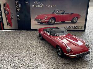 1/18 Jaguar E Type Covertable by Autoart model car