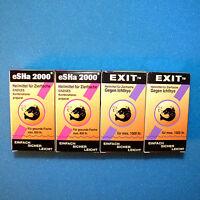 4er Set: eSHa 2000 + EXIT Zierfisch Heilmittel - Sofortversand bis 14:00 Uhr