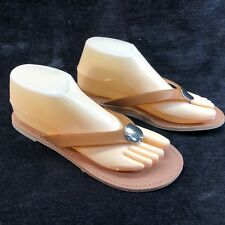 2bac7be53bd2 Report Sandals Womans 9 Flip Flops Light Brown New