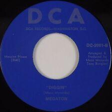 MEGATON: Diggin' DCA Washington DC Modern Soul Funk 45 Rare NM- Hear