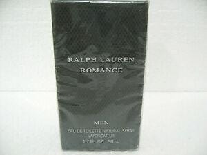 Ralph Lauren Romance Men Eau De Toilette Spray 50ML New Sealed Box HARD TO FIND