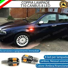 COPPIA LAMPADE FRECCE LED LATERALI ALFA ROMEO 147, GT  CANBUS NO ERRORE