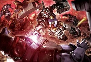 BEVERLY Jigsaw Puzzle 1000pcs Gundam Fierce battle black triple stars Japan xm5#