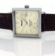 INGERSOLL GERMAN DESIGN AUTOMATIC SAPPHIRE STEEL 38mm X 38mm LEATHER IN1005CH