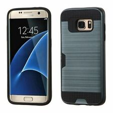 Metallic Rigid Plastic Fitted Cases for Samsung Cell Phones