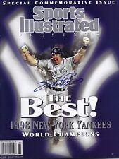 Scott Brosius Signed Sports Illustrated Auto New York Yankees No Label