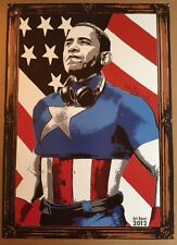 RARE 2012 Barack Obama Art Basel Offset Print Shepard Fairey We The People Obey