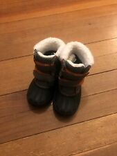 Gymboree Winter Fur Boots Little Boy 6