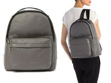 NWT $550 Marc Jacobs Varsity Pack Large Leather Backpack Womens Bag in Dark Grey