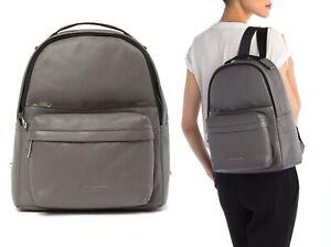 Marc Jacobs Varsity Pack Large Leather Backpack Women's Bag in Dark Grey