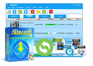 Allavsoft Downloader, Youtube -facebook Downloader 4k Videos-Music Downloader