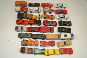 30+ lot of vintage Hot Wheels diecast cars 80s 70s