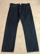Dockers Mens 40/32 Darkwash Straight Leg Jeans VEUC
