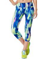 New IDEOLOGY Women's Printed Capri Cropped Leggings Trail Blazer Yoga Active
