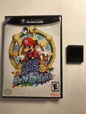 Super Mario Sunshine & Memory Card (GameCube) Fast Free Shipping Day Of Purchase