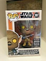 CHEWBACCA CONCEPT GALACTIC CONVENTION 2020 CELEBRATION  FUNKO POP STAR WARS #387