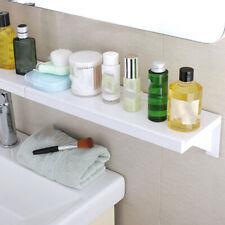 Bathroom Kitchen Shampoo Storage Shower Shelf Holder Organizer No Trace Sticker