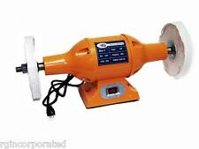 "HEAVY DUTY 8"" LONG SHAFT 1HP TOP BENCH  BUFFER POLISHER GRINDER CLEANER"