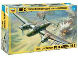 Zvezda 4809 SOVIET DIVE BOMBER PETLYAKOV PE-2 1/48