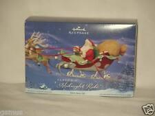 Hallmark Ornament- Santa's Midnight Ride 2005 + others