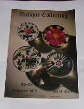 ANTIQUE COLLECTING SEPTEMBER 1979 - JAPANESE CLOISONNE AND ITS ARTISTS