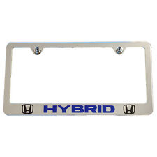 Honda Civic CR-Z Insight HYBRID Chrome License Plate Frame High-End USA Quality