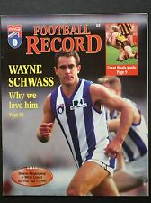 1995 semi final North Melbourne v West Coast Eagles Football Record