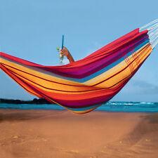 Amazonas Doppel-Hängematte Barbados rainbow 2 Personen Tuchhängematte bunt