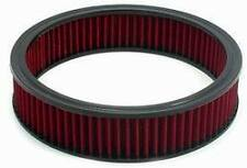 """Air Filter 9"""" x 2"""" RED Cotton Fiber Washable Reusable FORD CHEVY DODGE 48052 SPE"""