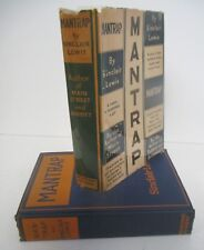 Sinclair Lewis MANTRAP 1926 1st Ed with Rare DJ