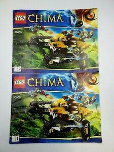 Instructions LEGO Chima 2/2 Manuals Instruction Mounting Ref:70005
