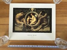 Gustav Klimt IDYLLE Print Bridgeman Art Museum Collection Printed Great Britain