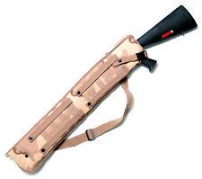 Foam Padded MOLLE Tactical Shotgun Scabbard Sleeve Case for 870 500 Desert Camo