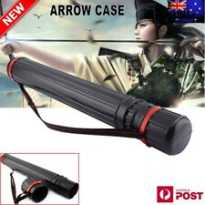 Hunt Bow Back Quiver Shoulder Archery Arrow Pouch Bag Holder Case Tube Strap AU