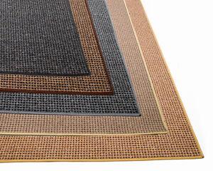 Teppich Landhaus Natur Style / Läufer in 6 Farben, umkettelt Vliesrücken