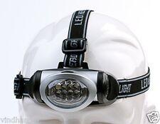 Behr Kopflampe Stirnlampe Angellampe Lampe 8 LED s LED-Lampe Angellampe 9920083