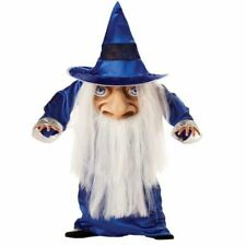CHILDRENS WIZARD MAD HATTER HALLOWEEN FANCY DRESS COSTUME KIDS OUTFIT MED 036851