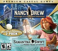 Nancy Drew Message In A Haunted Mansion Samantha Swift PC Games Window 10 8 7 XP