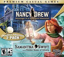 Nancy Drew Message In A Haunted Mansion Samantha Swift PC Games Window 10 8 7 XP